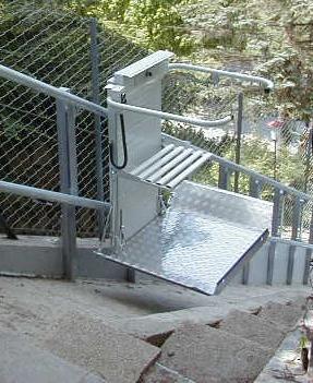 Gelände für treppe